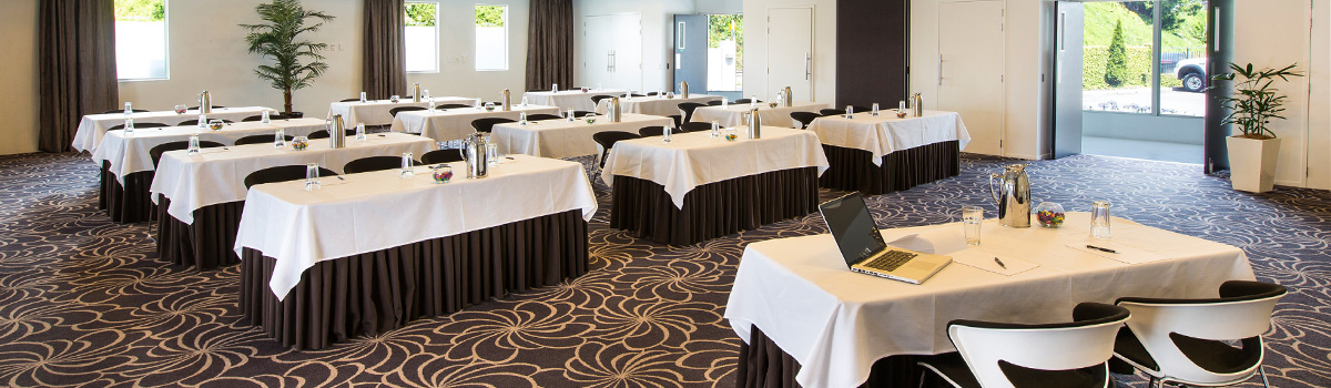 Trinity Rooms combined are one of Tauranga's few large conference venues naturally lit.with plenty of natural lighting and onsite car parking.