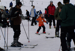 Turangi Holiday Park Accomodation Activities Skiiing