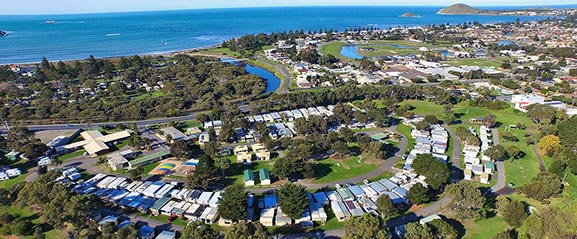 Arial View of Victor Harbour