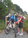 A family on the Waikato River Trails