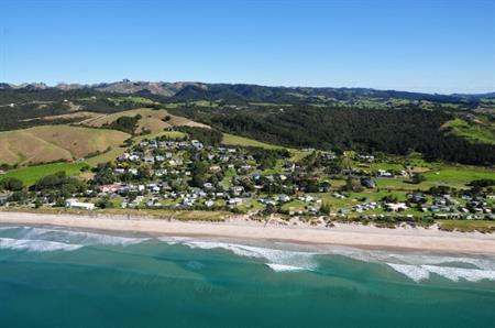 Waipu Cove aerial view 4
