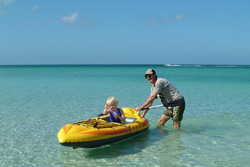 Plenty of watersports, including fishing, surfing, boating and kayaking