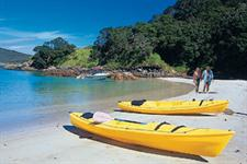 Go kayaking at one of the surrounding beachs