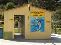 Our fish cleaning & filleting shed