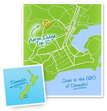 Aaron Lodge TOP 10 Holiday Park Dunedin