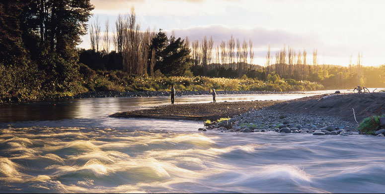Lake Taupo, New Zealand is one of the world's finest trout fishing and fly fishing destinations.