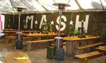 M*A*S*H campsite