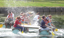 Team Building - Raft Race