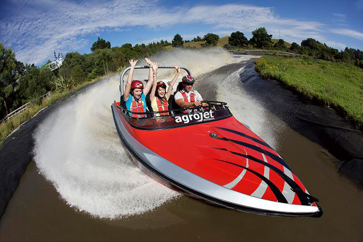 AGROJET - NEW ZEALAND'S FASTEST JET BOAT