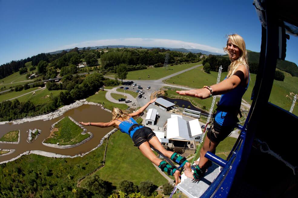 bungy jump Rotorua
