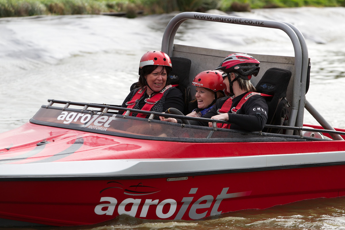 Jet Sprint Navigation Agroventures - Rotorua