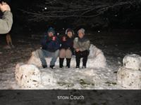 Snow Couch