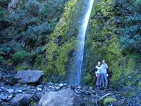 Walk from Camp to the Waterfall
