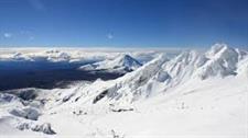 Ski Taupo, Whakapapa ski field, Mt Ruapehu in the Tongariro National Park