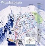 Taupo Ski, Whakapapa ski runs, Mt Ruapehu in the Tongariro National Park