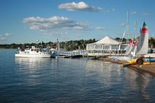 Get wet inside and out at the Sailing Centre 2 Mile Bay