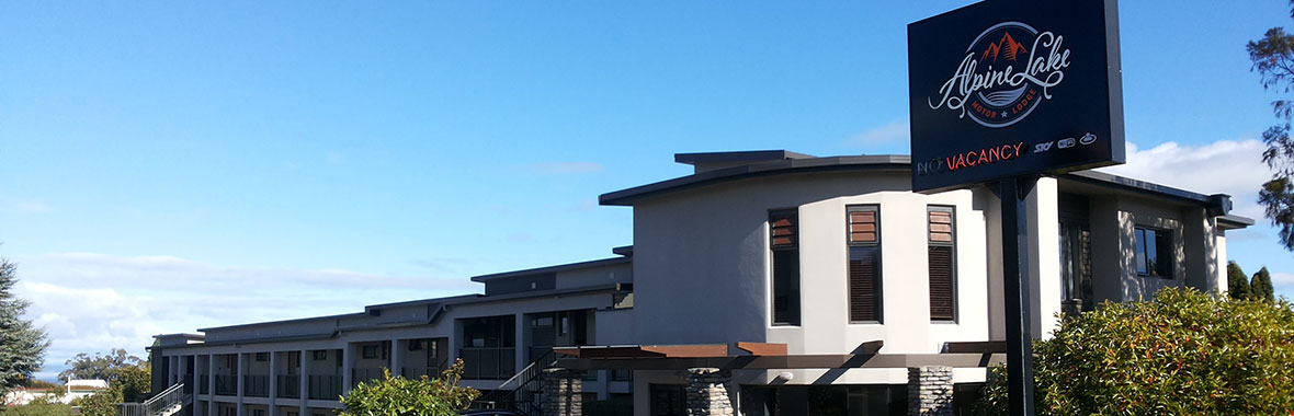Alpine Lake Motor Lodge | Taupo Motels Taupo District Accommodation - Overview
