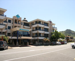 The Anchorage is located on the corner of Salisbury Avenue and Victoria Road in central Mount Maunganui
