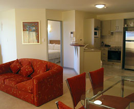 Each and every apartment in at The Anchorage, Mount Maunganui is fully self-contained