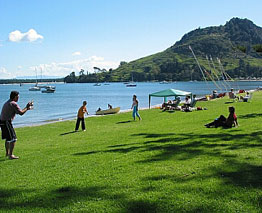 Mount Maunganui is one of the most popular Bay of Plenty beaches