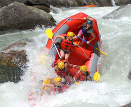 The rivers of the Bay of Plenty interior offer an amazing array of multi-grade white water rafting experiences