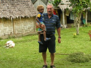 Guide Karl Schönrock for safari tours, private tours to Fiji, Vanuatu...