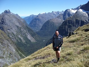 Guide René Aukens for hiking trips