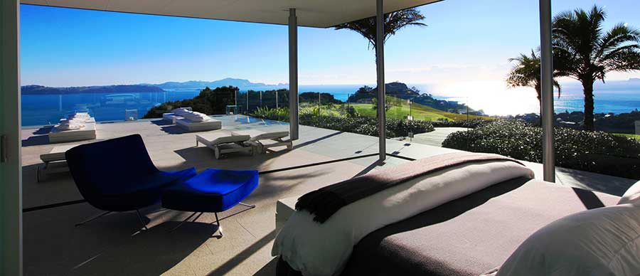 Aroha Luxury New Zealand Tours feature the very best accommodation in beautiful locations