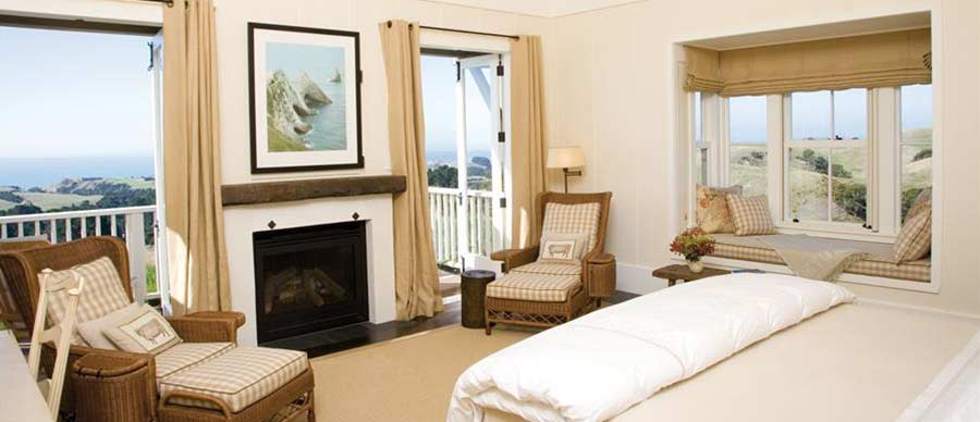 Aroha Luxury New Zealand Tours feature the very best accommodation including boutique bed and breakfast