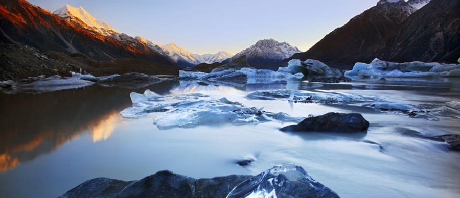Aroha Luxury Tours - New Zealand natural attractions - glacier lakes