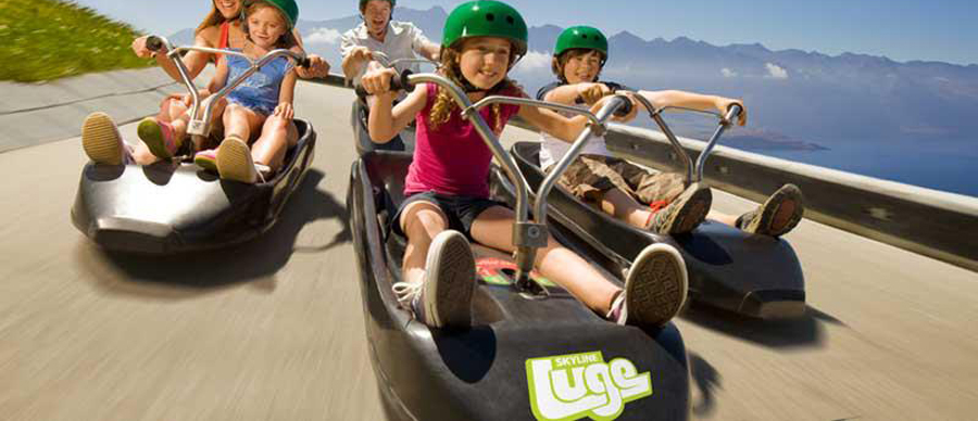 Aroha Luxury Tours - Family values tour - Rotorua luge