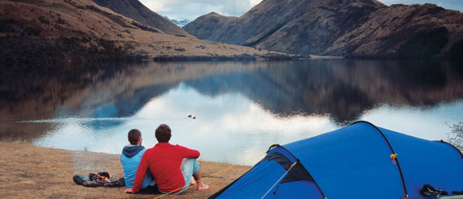 Aroha Luxury Tours - About New Zealand - Outdoor camping