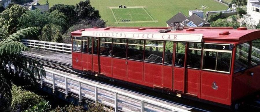 Aroha Luxury Tours - About New Zealand - Wellington Cable Car