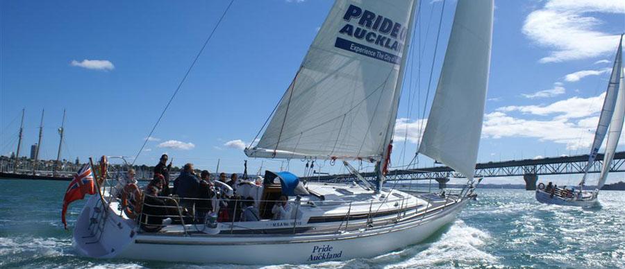 Aroha Luxury Tours - About New Zealand Sports - Sailing