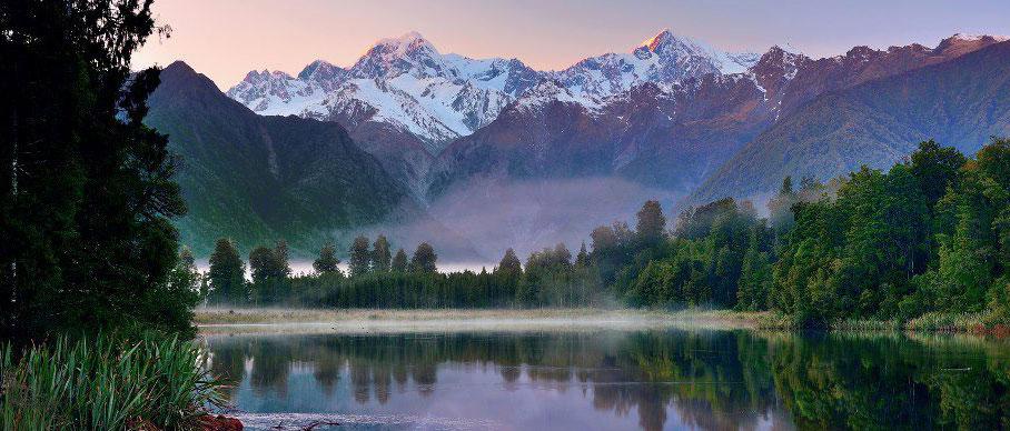 Aroha Luxury Tours - About New Zealand Landscape - Beautiful Lakes