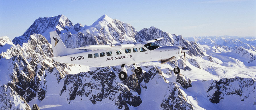 Aroha Luxury Tours - About New Zealand Climate - Alpine scenic flight tours