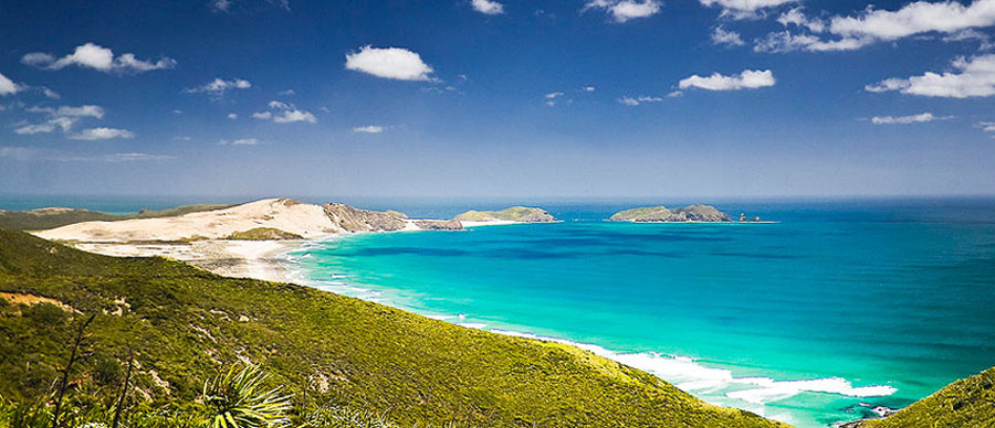 Aroha Luxury Tours - About New Zealand Climate - Summer beach