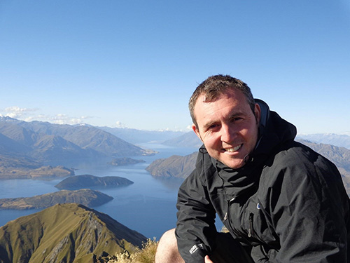 Andrew Millson - Aroha Luxury Tours personal guides