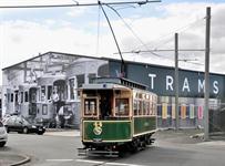 Approaching the Tram Depot