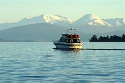 Get out on Taupo's waters from your lakeside location at Baycrest Lodge