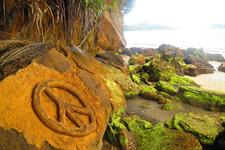 Rock Art at Big Bay