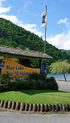 Welcome to Blue Lake Top 10 Holiday Park