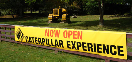 Welcome to Caterpillar Experience