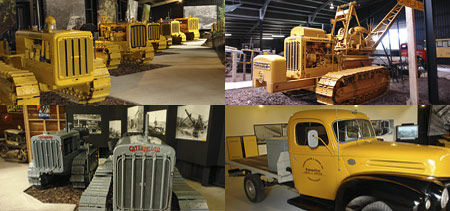 Collection of Caterpillar Experience Machines
