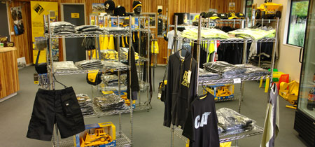 The New Zealand Caterpillar Experience Retail Outlet