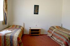 Twin Hotel Room