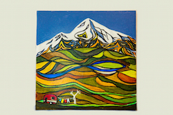 Small tile showing Mt Taranaki