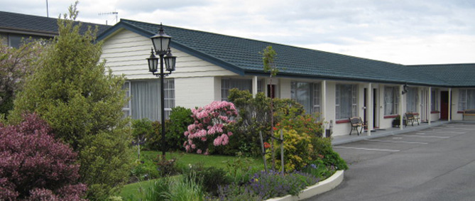 Choose from 10 ground floor units at Colonial on Tay, Invercargill, New Zealand.