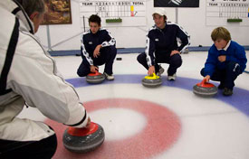 Learning Curling