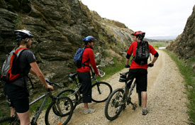 Stopping on the Otago Central Rail Trail